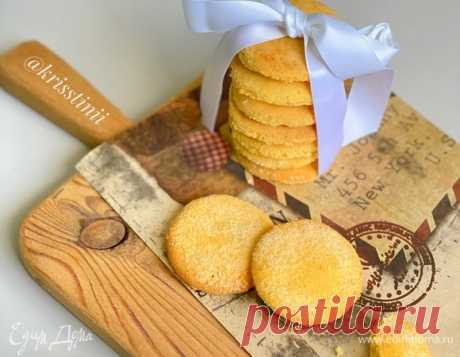 Кукурузное печенье без глютена.