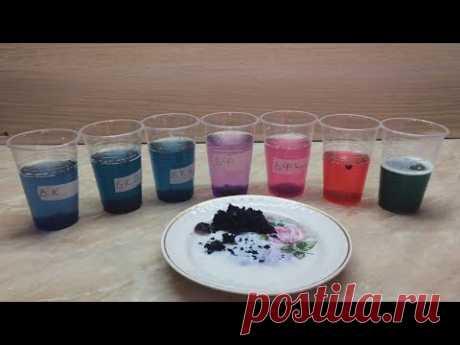 El AGUA CORRECTA para el vidriado de las plantas. DOS TESTS: a la dureza y la acidez del agua en las condiciones de casa