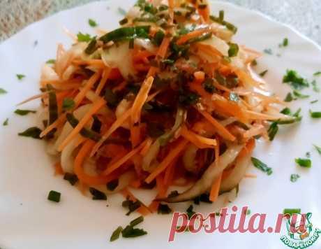 Салат из моркови и огурца в азиатском стиле – кулинарный рецепт