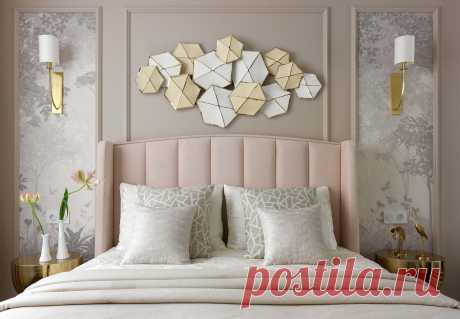 Как декорировать стену за кроватью: 22 интересные идеи Кровать — пожалуй, центральный предмет мебели в интерьере спальни. Это первое, на... Читай дальше на сайте. Жми подробнее ➡