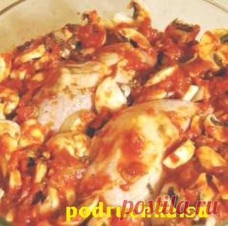 Блюдо из куриных окорочков.   Любимые блюда