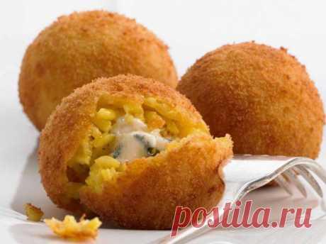 Аранчини с сыром — Кулинарная книга - рецепты, фото, отзывы