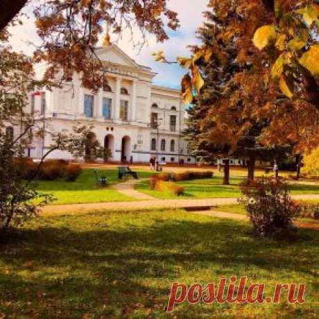 Университетская роща в сентябре. Фото: Алина Оленбург.