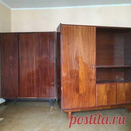 Советский буфет и шифоньер превратились в стильную мебель, как из ИКЕА