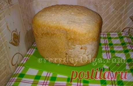 Белый хлеб в хлебопечке: пошаговый домашний рецепт с фото