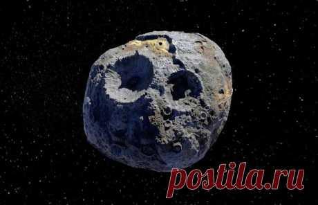 """НАСА планирует миссию на """"богатый"""" астероид, или космическое тело оценено в 10 000 квадриллионов долларов   Новости науки и техники – Читать последние новости о технологиях, ученых, мире науки в издании «Вестник»"""