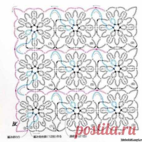 Пуловер спицами веерным узором, Узоры для варежек, идеи, Ажурный узор Scroll, Розовая ажурная салфетка, Плетёный шарф-снуд крючком, схемы для безотрывного вязания.