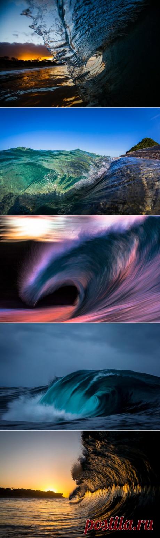 Морские волны в фотографиях Мэтта Бургесса