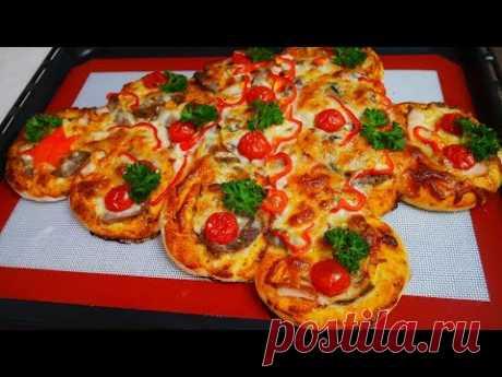 ВКУСНАЯ ДО БЕЗУМИЯ !!!НОВОГОДНЯЯ пицца-пирог .Что приготовить на Новый Год 2020