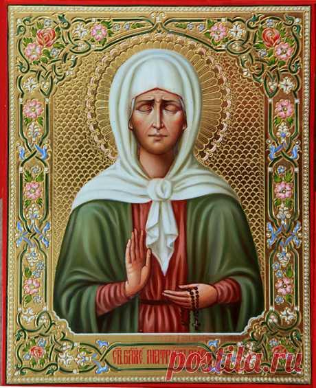Сильная молитва Матроне Московской от пьянства мужа.