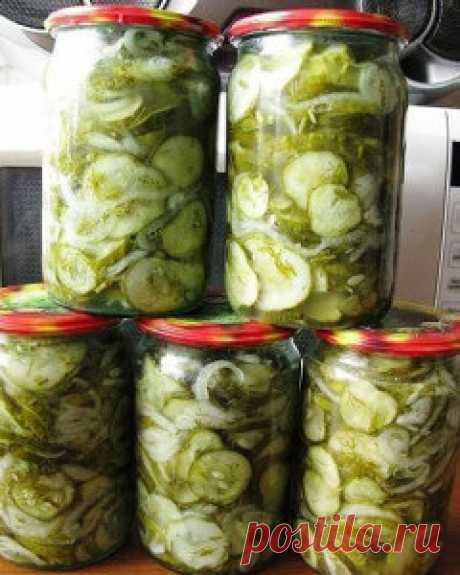 Салат из огурцов на зиму «Зимний король» (стерилизация не требуется) - Приготовим вкусно