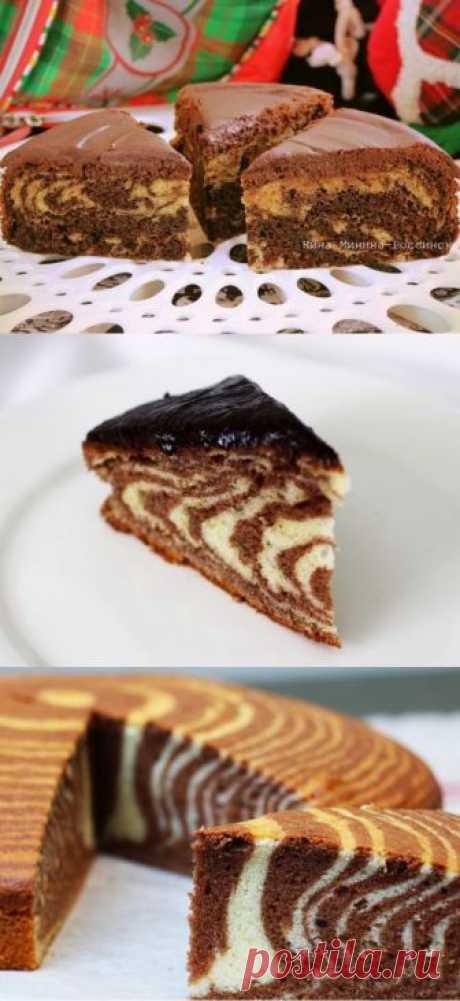 Поручите любимый десерт помощнице: торт «Зебра» в мультиварке - Счастливый формат