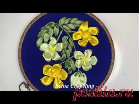 Как просто вышить лентами цветы своими руками. Красивый и простой способ вышивки лентами.