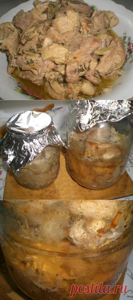 Тушеная в стеклянной банке свинина – вкусно так, что невозможно оторваться | Кастрюлька | Яндекс Дзен