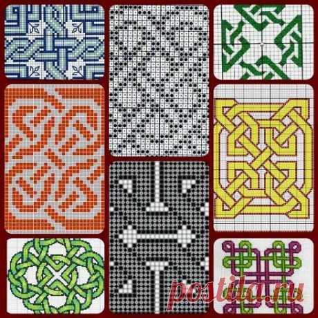 Кельтские мотивы для любителей филейного вязания | Левреткоман-оч.умелец | Яндекс Дзен
