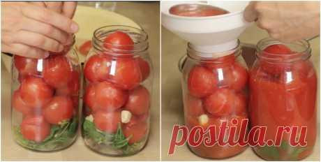 Необычный рецепт томатов в собственном соку. Зимой их съедают первыми! - Вкусные рецепты - медиаплатформа МирТесен