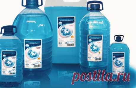 Как усовершенствовать жидкость для омывания лобового стекла? — Полезные советы