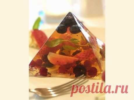 Рецепт ягодного желе без сахара - МирТесен