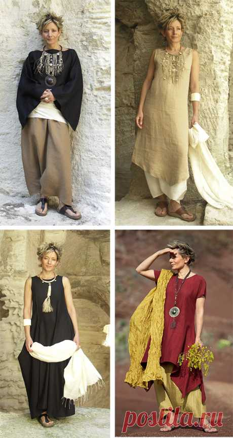 Стиль бохо в одежде для пожилых леди: начинаем новую жизнь!