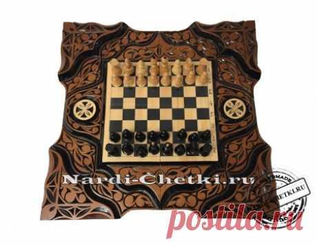 "Купить шахматы-нарды-шашки ""Битва умов"""