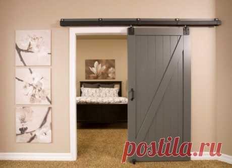 Использование откатных дверей | Роскошь и уют