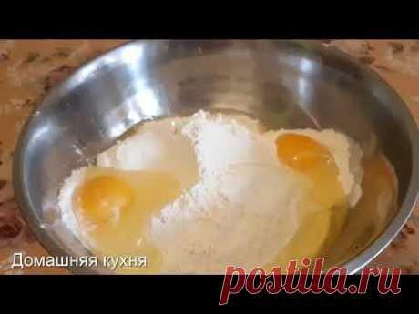 Отличное тесто на пельмени и вареники