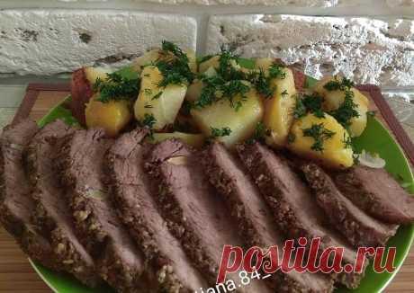 (8) Говядина запечённая в духовке - пошаговый рецепт с фото. Автор рецепта Татьяна . - Cookpad