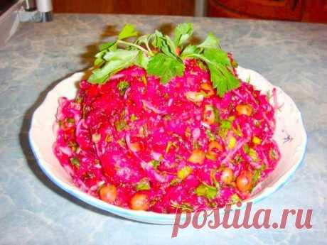 Классический винегрет рецепт с фото пошагово - 1000.menu