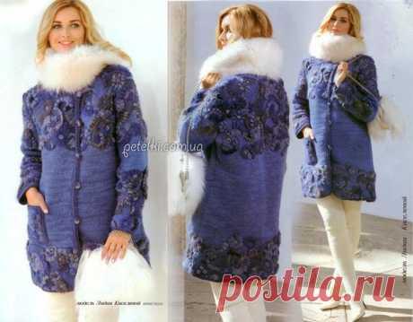 Lidiya Kiselyova's coat. How to knit