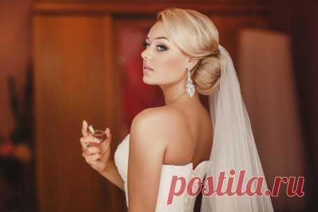Удивительные свадебные прически на средние волосы (60 фото)