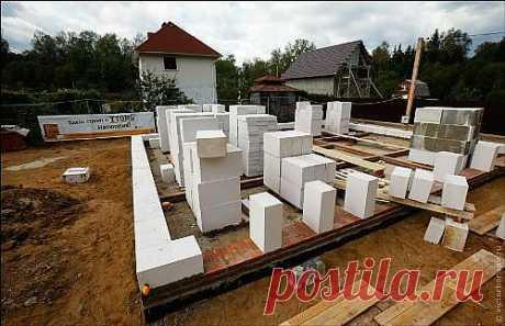 Строим дом из газосиликатных блоков. Этапы строительства дома