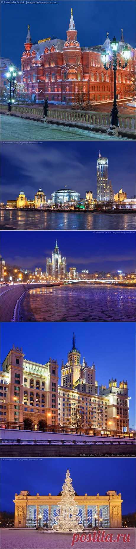 night_in_city: Подборка фотографий вечерней Москвы.