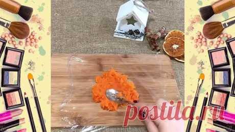 Закуска-мандаринки на новогодний стол