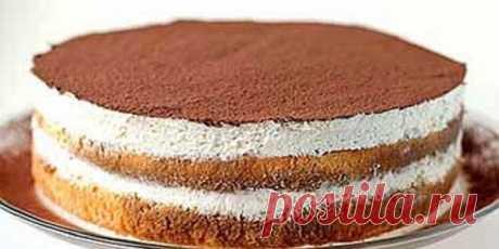 Простой рецепт торта тирамису! - Кулинария - это искусство