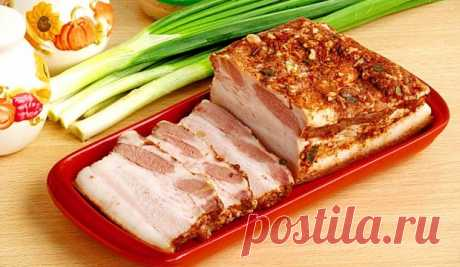 Нежнейшая и ароматнейшая свиная грудинка со специями без особых усилий Настоящий деликатес!