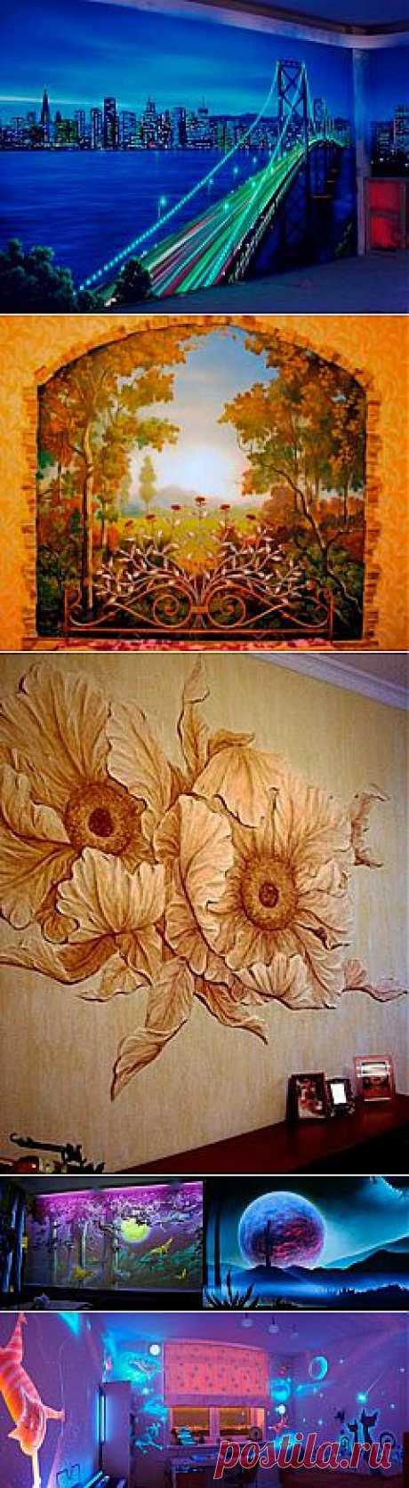 7 ультрамодных способов декорирования стен - Статьи - Недвижимость@Mail.Ru