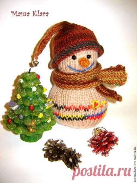 Master class, we knit a snegovichka of the kid - the Fair of Masters - handwork, handmade