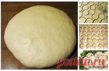Как приготовить супер тесто на пельмени и вареники - рецепт, ингридиенты и фотографии