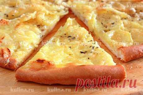 Картофельная пицца с белым соусом – Kulina.Ru