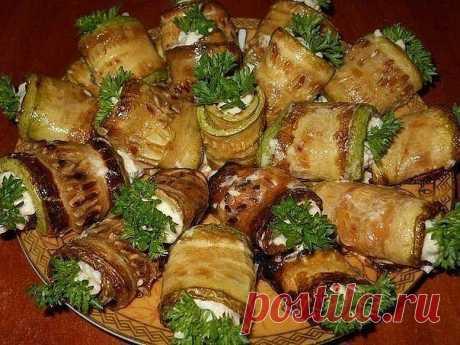 РУЛЕТИКИ КАБАЧКОВЫЕ   Самые вкусные кулинарные рецепты