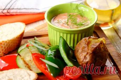 Самый простой дип-соус для овощей - пошаговый рецепт с фото.