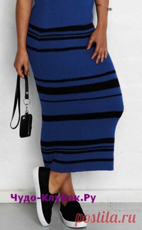 Облегающая юбка-макси вязаная спицами 156 | ✺❁сайт ЧУДО-клубок ❣ ❂✺Не упустите возможность связать себе такую стильную облегающую прямую юбку-макси на кулиске с эластичной тесьмой. Источник:Журнал «Burda. Creazion» ❂ ►►➤6 000 ✿моделей вязания ❣❣❣ 70 000 узоров►►Заходите❣❣ %