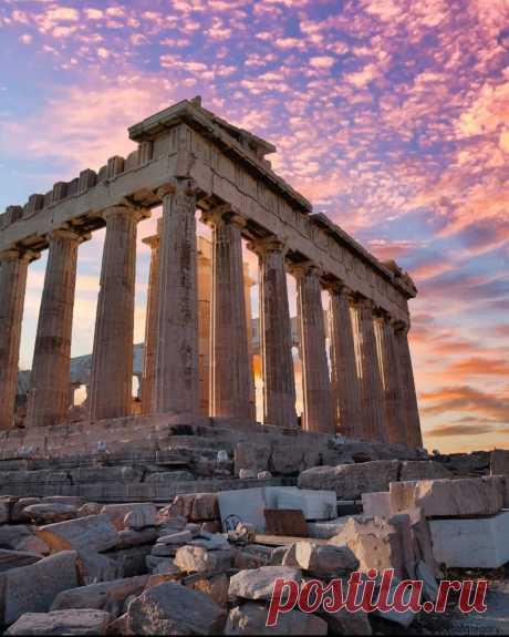 Афинский Акрополь, Греция.