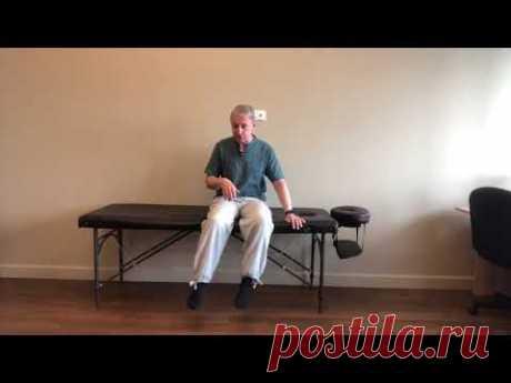 Самое простое и эффективное упражнение для колена