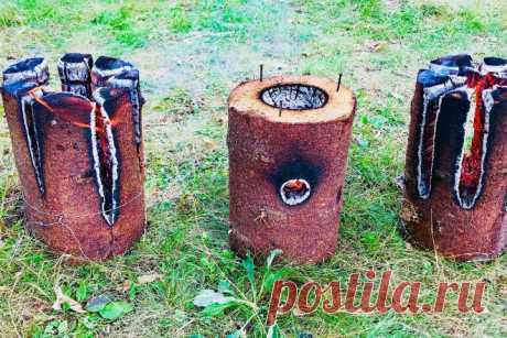 Как изготовить финскую свечу из полена     Финская свеча — конструкция уникальная в своей простоте. Всего одного полена хватит, чтобы обеспечить себя костром и горячим ужином. Сделать ее самому не проблема — никаких особых навыков финская …