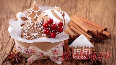 6 рецептов самых вкусных печенек к Новому году | Мама и малыш | Яндекс Дзен