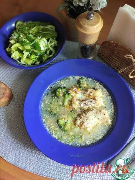 Рыбный суп с гречкой и брокколи – кулинарный рецепт