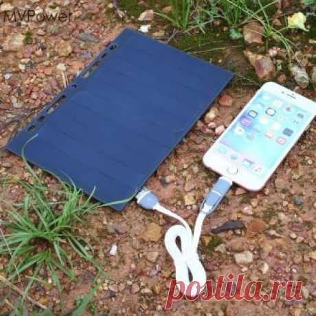 МВ Мощность Портативный 5 В Солнечный Мощность Bank зарядки Панель листовка A5 Зарядное устройство USB мобильный телефон, смартфон солнечное ячеек купить на AliExpress