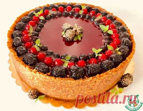 Шоколадный чизкейк с малиновым мармеладом – кулинарный рецепт