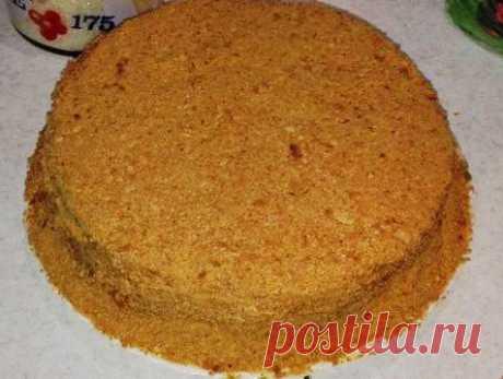 """Торт """"Рыжик"""" домашний для меня всегда восхитительно вкусный"""